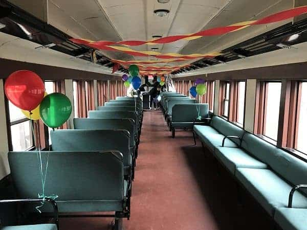 First Class Parlor Car Shown